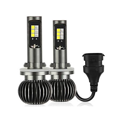 voordelige Motorverlichting-2 stks 880/881 dual color high power koplampen vrachtwagen koplampen mistlichten