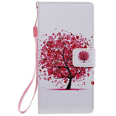 cheap Galaxy Note 4 Cases / Covers-Case For Samsung Galaxy Note 9 / Note 8 / Note 5 Wallet / Card Holder / with Stand Full Body Cases Cat / Word / Phrase / Tree PU Leather  For Samsung Galaxy Note 10/Note 10 Plus/Note 4