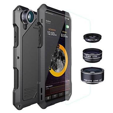 voordelige Galaxy S-serie hoesjes / covers-hoesje Voor Samsung Galaxy S9 / S9 Plus / S8 Plus Schokbestendig / Waterbestendig Achterkant Effen Metaal