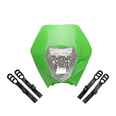 Недорогие Фары для мотоциклов-12v высокая яркость универсальный мотоцикл фара лампа