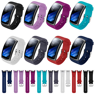 cheap Smartwatch Accessories-Watch Band for Gear Fit Pro / Gear Fit 2 Fitbit Sport Band Silicone Wrist Strap
