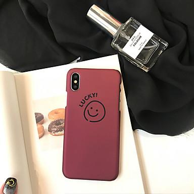 voordelige iPhone 6 hoesjes-hoesje Voor Apple iPhone XS / iPhone XR / iPhone XS Max Stofbestendig / Patroon Achterkant Woord / tekst / Cartoon PC