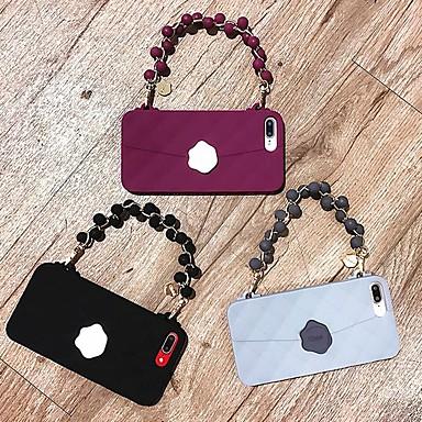 Недорогие Кейсы для iPhone-чехол для яблока iphone xs / iphone xr / iphone xs max / 7 8 plus / 6splus / 6s задняя крышка сплошное цветное тпу