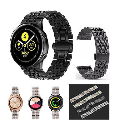 voordelige Horlogebandjes voor Samsung-voor samsung gear sport / s2 classic / galaxy horloge 42mm / galaxy horloge actief / galaxy horloge actief 2 roestvrij stalen horlogeband armband