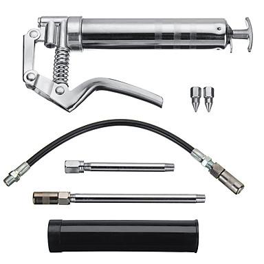 voordelige Noodgereedschap-120cc pistoolgreep met één hand smeergereedschap met smeerpatronen smeeroliegereedschap