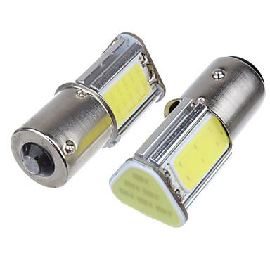 voordelige Automistlampen-2pcs 1156 Automatisch Lampen 5 W COB 4 LED Mistlamp / Richtingaanwijzerlicht / Remlichten Voor Universeel Alle jaren
