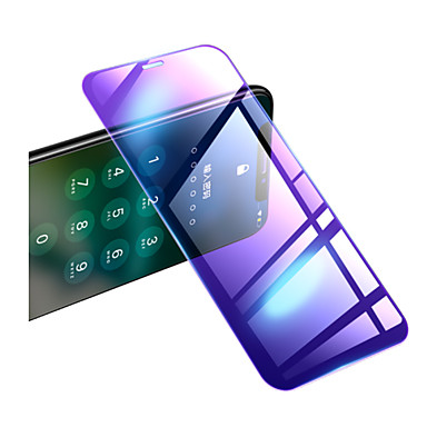 voordelige iPhone screenprotectors-2.5D 9H Anti Blue Ray Light gehard glas voor iPhone X XS Max XR 11 Pro Max 2019 Eye Care transparante schermbeschermer