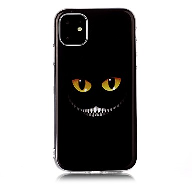 voordelige iPhone 5 hoesjes-hoesje Voor Apple iPhone 11 / iPhone 11 Pro / iPhone 11 Pro Max IMD / Ultradun / Patroon Achterkant Cartoon TPU