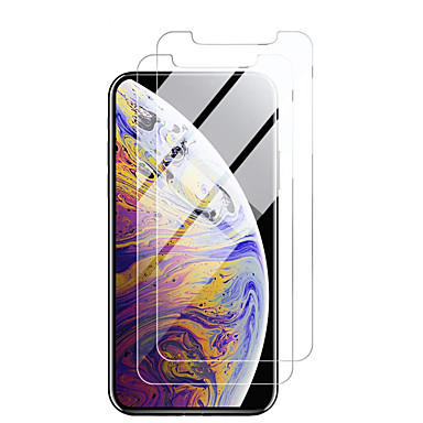 voordelige iPhone screenprotectors -Apple Screen Protectoriphone 11 High Definition (HD) frontbeschermer 2 stuks gehard glas