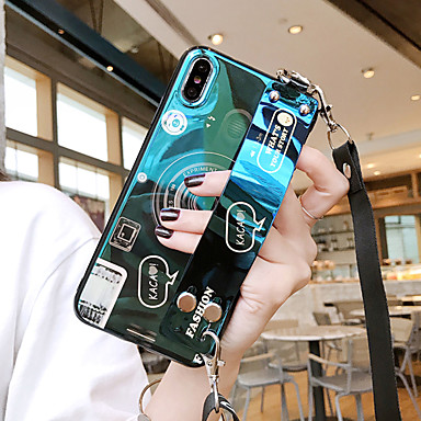 voordelige Galaxy S-serie hoesjes / covers-samsung voor galaxy s10e / s10 / s10 plus blu-ray camera s9 / s9 plus met pols s8 / s8 plus cartoon s7 / s7 edge vierzijdige anti-drop mobiele telefoonhoes