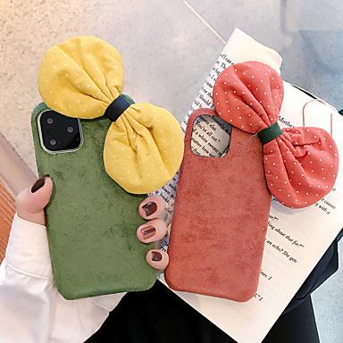 voordelige iPhone 7 hoesjes-hoesje Voor Apple iPhone 11 / iPhone 11 Pro / iPhone 11 Pro Max Schokbestendig / Stofbestendig Achterkant Effen tekstiili / TPU