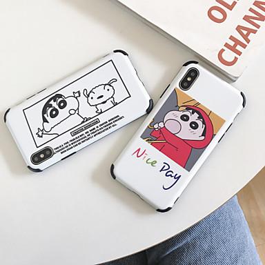 voordelige iPhone 7 hoesjes-hoesje Voor Apple iPhone 11 / iPhone 11 Pro / iPhone 11 Pro Max Schokbestendig / Stofbestendig / Patroon Achterkant Cartoon TPU