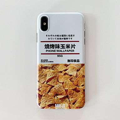 voordelige iPhone X hoesjes-hoesje Voor Apple iPhone XS / iPhone XR / iPhone XS Max IMD / Ultradun / Patroon Achterkant Cartoon TPU