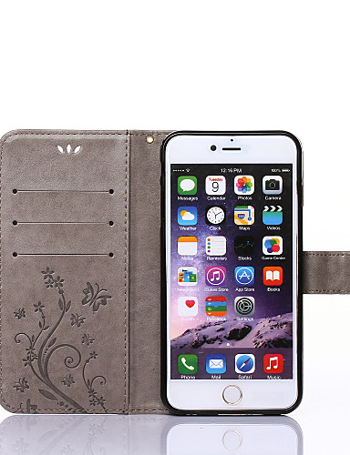 cheap iPhone Cases-Case For Apple iPhone X / iPhone 8 / iPhone XS Wallet / Card Holder / with Stand Full Body Cases Butterfly Hard PU Leather for iPhone XS / iPhone XR / iPhone XS Max