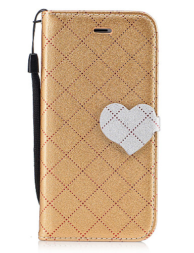 cheap iPhone Cases-Case For Apple iPhone 7 / iPhone 7 Plus Wallet / Card Holder / with Stand Full Body Cases Solid Colored Hard PU Leather for iPhone 7 Plus / iPhone 7 / iPhone 6s Plus