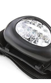 פנסי ראש LED 50 lm 1 מצב תאורה גודל קומפקטי / גודל קטן / קל במיוחד מחנאות / צעידות / טיולי מערות