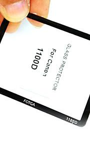 Fotga højkvalitets LCD-skærm panel beskytter Glas til Canon EOS 1000D
