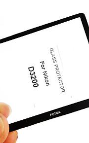 fotga® premium lcd-skærm panel protektor glas til Nikon D3200