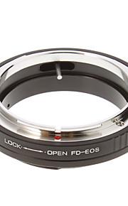 FD-EOS Anel Adaptador Lentes Câmera(Preto)
