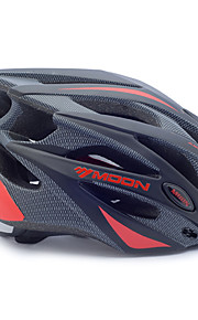 MOON Bisiklet kaskı 21 Delikler Bisiklet Ayarlanabilir Half Shell PC EPS Yol Bisikletçiliği Eğlence Bisikletçiliği Bisiklete biniciliği /