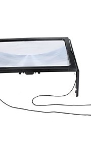 A4 Μεγεθυντικοί Φακοί Γενέθλια Πολυλειτουργία Φακός με LED Φως Βολικό Κλασσικό Παιδικά Ενηλίκων Αγορίστικα Κοριτσίστικα Παιχνίδια Δώρο