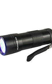 D09UV-1-0-1 Torce a luce nera LED 1 Modalità di illuminazione Impermeabile / Luce a raggi ultravioletti Campeggio / Escursionismo /