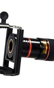 플라스틱 장초점 렌즈 8X 스탠드가 있는 렌즈 S4 iPhone 5