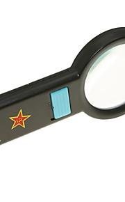 håndholdt 67mm 5x lup med 10-ledede belysning