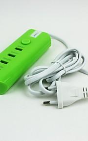 4USB ac / dc eu power adapter voor de beveiliging ontvanger connector