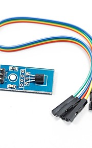 DS18B20 Temperature Sensor Module for Arduino (Works with Official Arduino Boards)