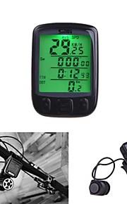 Bike Computer Waterproof 28 Multifunction Wireless Bike Bicycle Cycling Computer Odometer Speedometer LCD Backlit