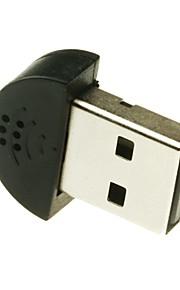 mini-usb 2.0-microfoon voor pc