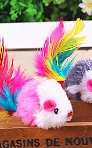Penas para Gatos Jogos para Gatos camundongo Têxtil Para Gato Gatinho