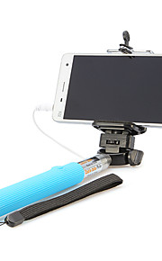 Wired Handheld Monopod for Selfprotrait Selfie Sticks Cell Phone Universal Accessories