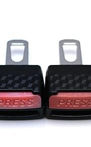 Universal 3D Luminescent Multifunction Car Safety Belt Buckle(2PCS)
