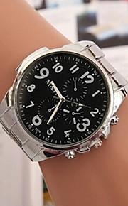 Mulheres Relógio Elegante Relógio de Moda Quartzo Lega Banda Prata