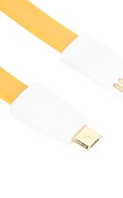 HTC /小米科技/ Huawei社のための23センチメートルマイクロUSBマグネットケーブル