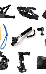 Chest Harness Front Mounting Suction Cup Straps Hand Straps Monopod Mount / Holder Smart Remotes Floating For Action Camera Gopro 6 Gopro