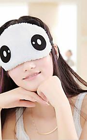 cute face panda sono viagens olho máscara lightproof