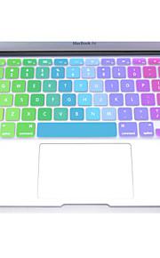 """coosbo® färgrik silikon tangentbord skyddskåpa hud för 11 """", 12"""", 13 """", 15"""", 17 """" macbook air pro näthinnan"""
