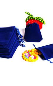 Dame Smykketasker Mørkeblå Stof Mode Daglig