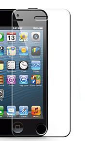 asling 2.5D arc 0.26mm 9h hardhet praktisk herdet glass skjermbeskytter for iPhone 5 / 5c / 5s