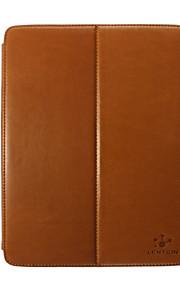 lention luxus okos burkolata valódi bőrtok, összecsukható állvány iPad 2 3 4