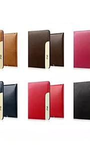 """Custodia Per iPad 4/3/2 Porta-carte di credito Con supporto Integrale Fantasia """"Gufo"""" vera pelle per iPad 4/3/2"""