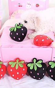 Brinquedos para roer Brinquedos Felpudos rangido Fruta Têxtil Para Cachorro Cachorrinho