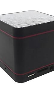 야외 미니 휴대용 지원 메모리 카드 마이크 BULT 인 블루투스2.1 3.5mm AUX 무선 블루투스 스피커 블랙 실버 레드 블루