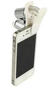 Mobiltelefon Mikroskop Mikroskoper Forstørrelsesglas Legetøj 60 gange Stk. Gave