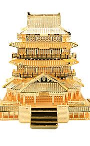 Zabawki 3D Puzzle Metalowe puzzle Zabawki Chińska architektura 3D Artykuły do umeblowania Sztuk