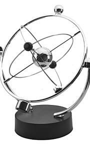 Kinesiske kredsløbsmodeller Newton balancekugler Astronomisk modellegetøj Legetøj Kontor Skrivebord Legetøj Metal Pige Drenge 1 Stk.