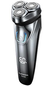Elektroniczna maszynka do golenia Twarz Elektryczny Szybkie ładowanie Sucho Stal nierdzewna